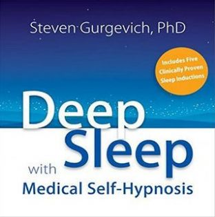 Steven Gurgevich PhD CD - Deep Sleep with Medical Hypnosis (2CDs) NO OUTER BOX CDs IN SLEEVE ONLY